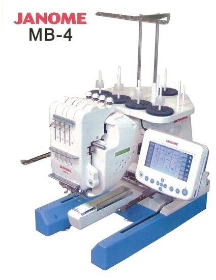 Janome Mb 4 Embroidery Machine Embroidery Machines Pinterest