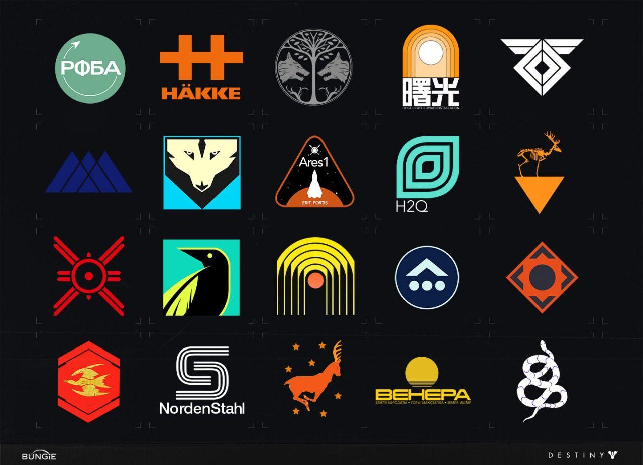 Destiny Emblems by Joseph Cross Logo design typography