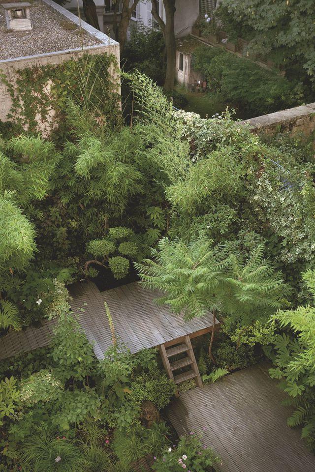 jardin et terrasse zen design en bois deco id e pinterest jardins potager et jardins. Black Bedroom Furniture Sets. Home Design Ideas