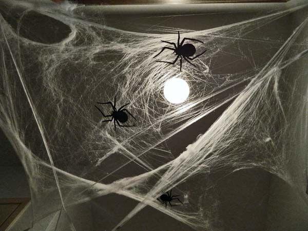 DIY Spooky Halloween Hallway HOME HEART CRAFT Pinterest Spooky