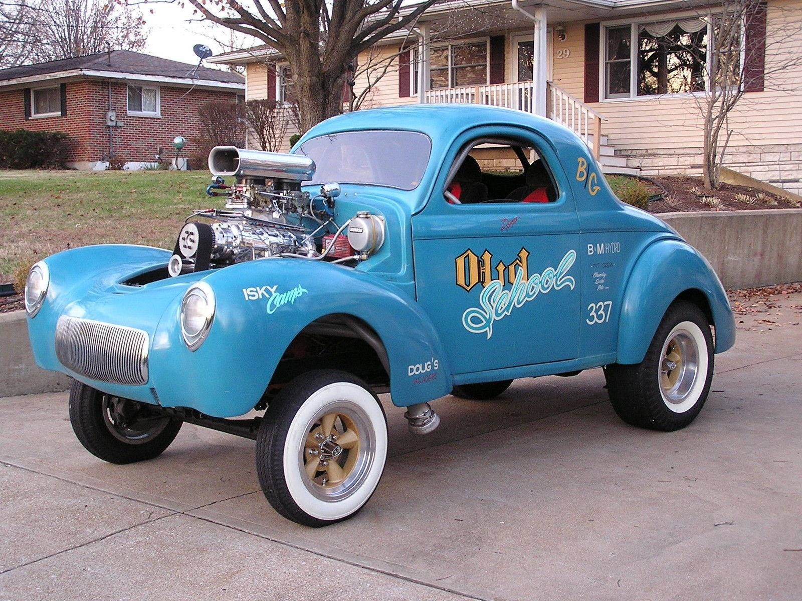 Gasser Willys Muscle Cars For Sale Coupe