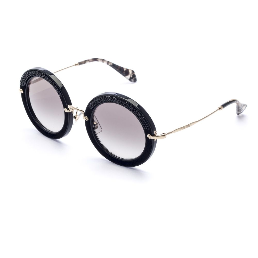 Miu Miu - MU 08RS 1AB-0A7 Pavé Story - Óculos de Sol - oculum ... 7929557868