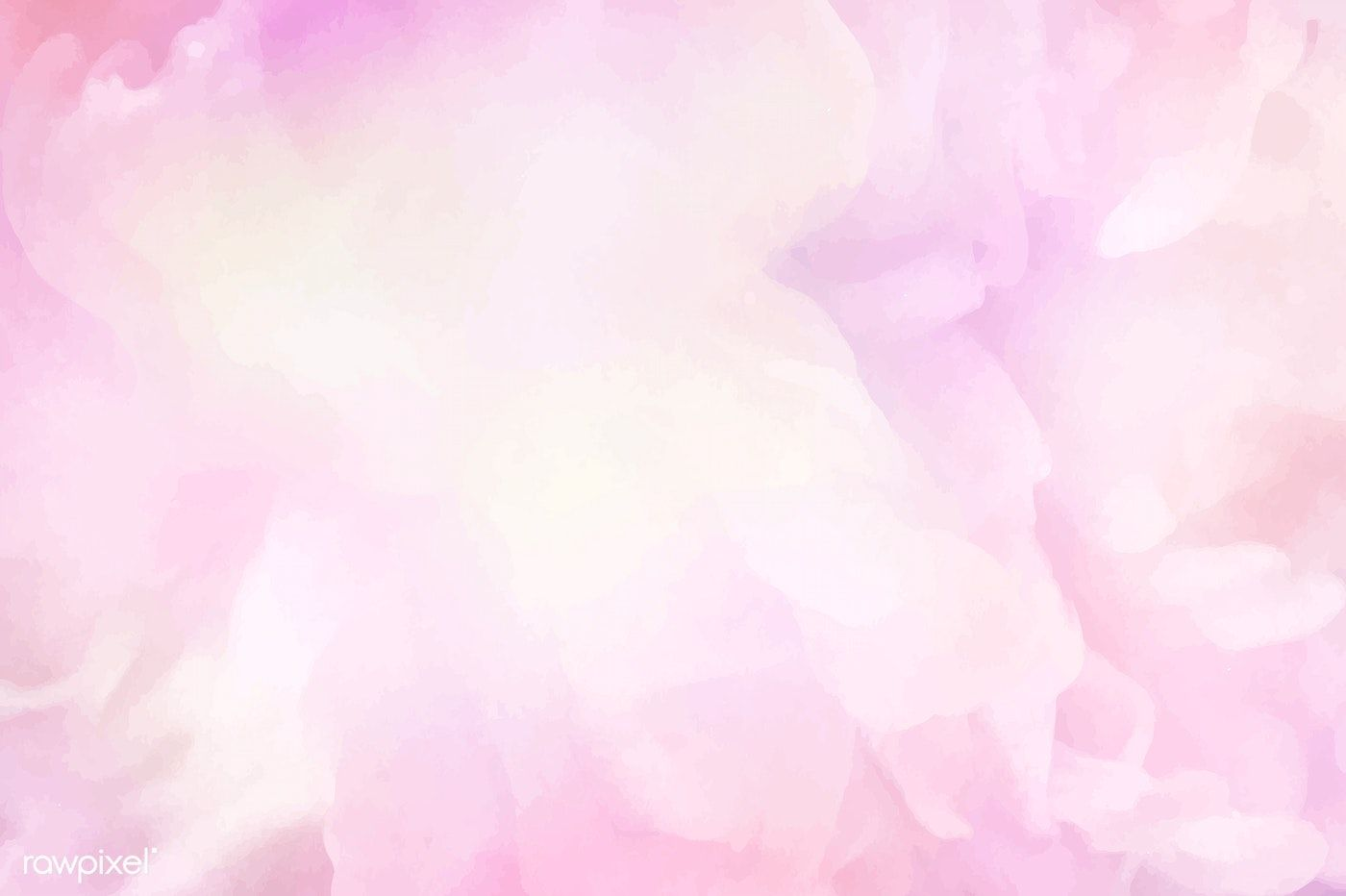 Vibrant Pink Watercolor Painting Background Free Image By