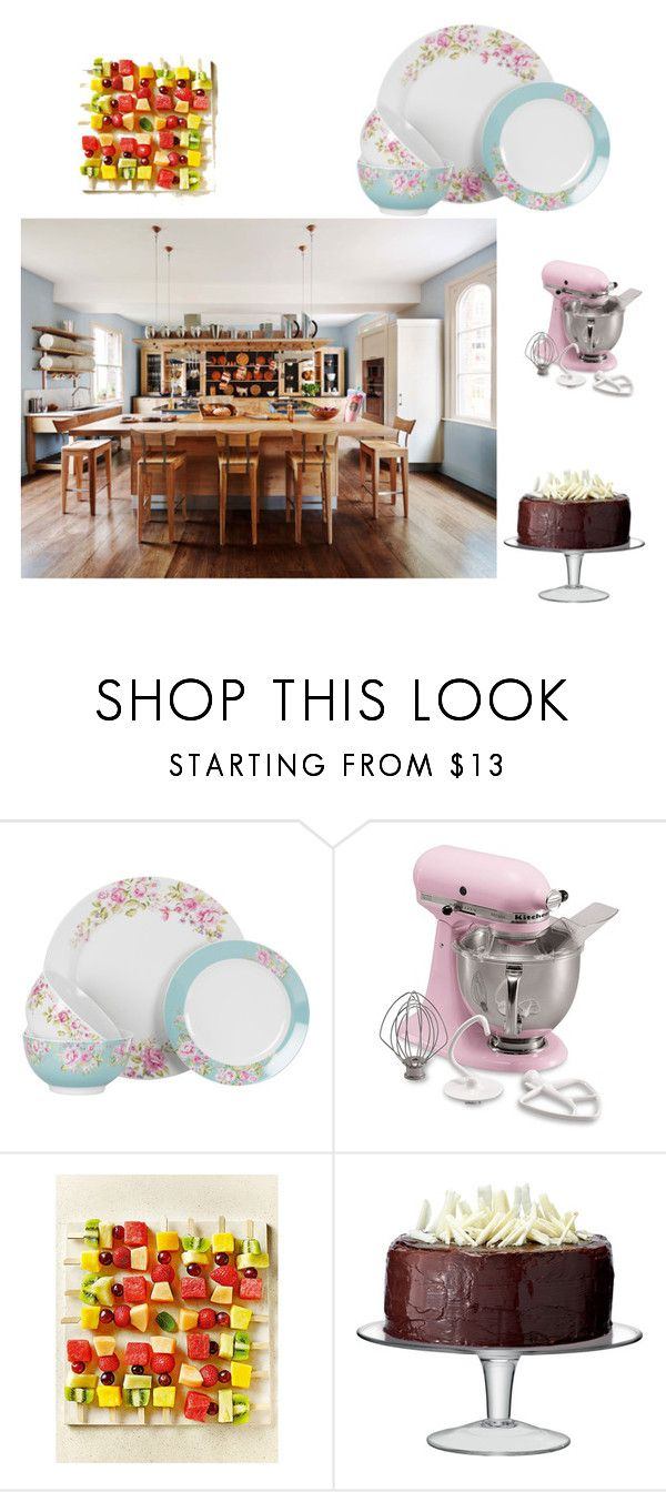 """""""Untitled #29"""" by aashikaura ❤ liked on Polyvore featuring interior, interiors, interior design, home, home decor, interior decorating, KitchenAid and LSA International"""