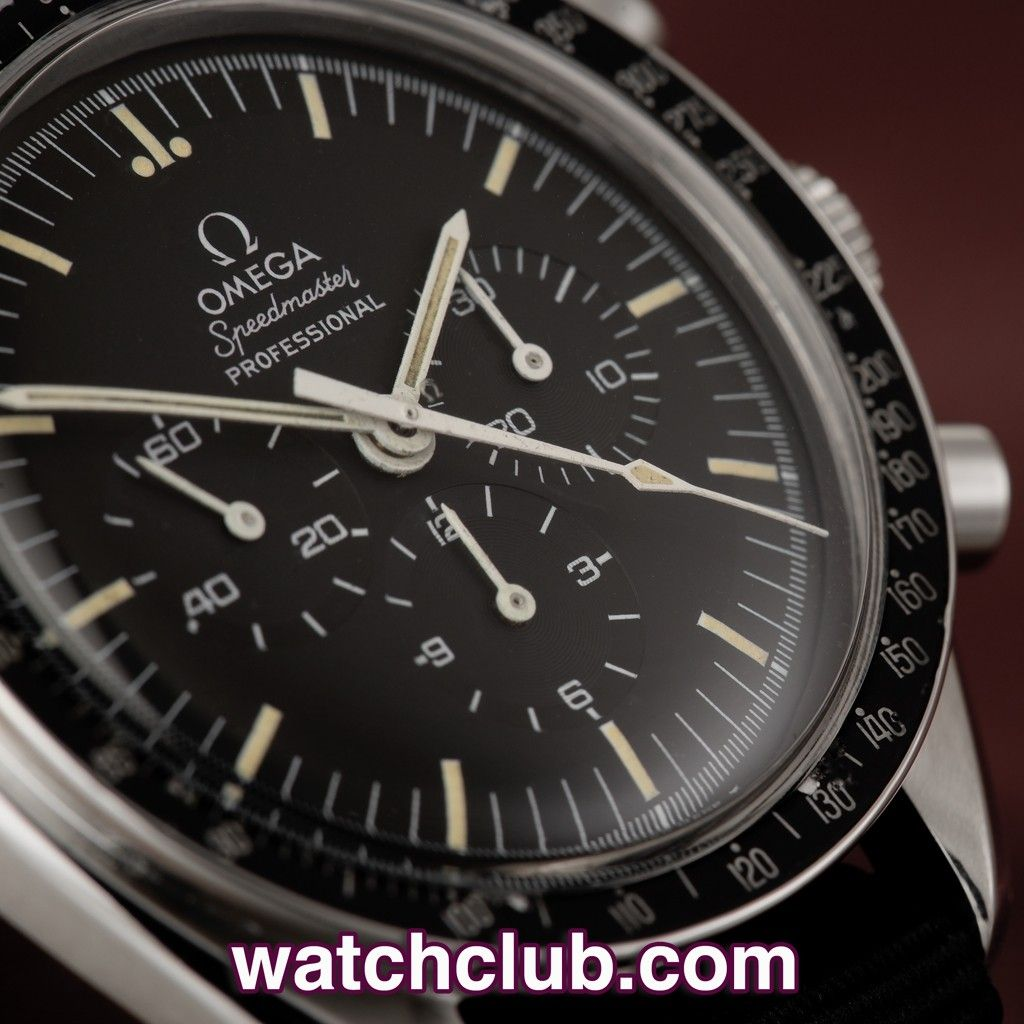 Omega Speedmaster Professional Vintage Model From 1976 Ref 145022 Rolex Parts Diagram For Cal 3035 1 Gent39s Datejust As It 76 St Year This Sought After Has Been Kept In
