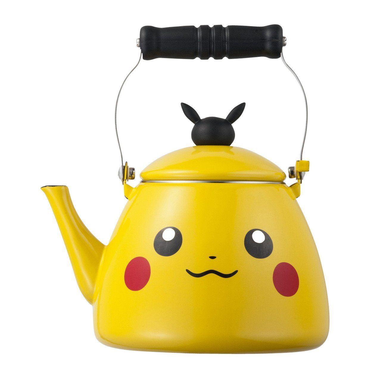 amazon | ポケモンセンターオリジナル ホーローケトル pikachu | 調理
