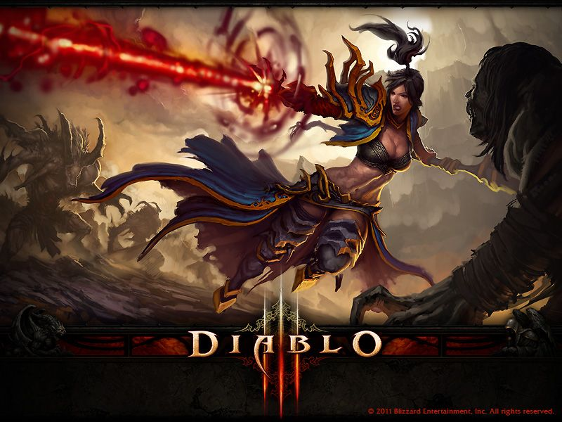 Diablo 3 Wizard Wallpaper