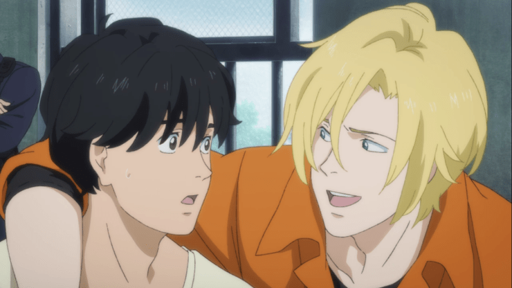Pin by Brittany Flaherty on Eiji and Ash banana fish