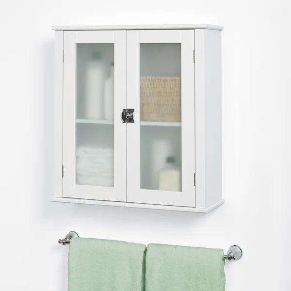 Elan 22 W X 24 H X 8 D Wall Mounted Bathroom Cabinet In 2021 Wall Mounted Bathroom Cabinets Wall Cabinet Wall Mounted Bathroom Storage