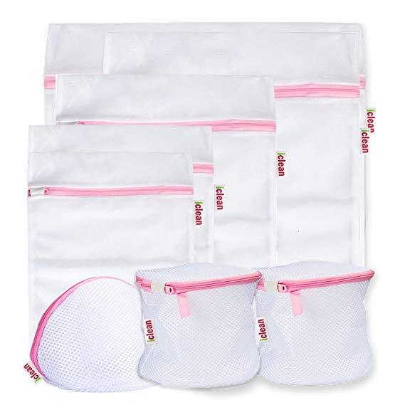 Amazon Com Mesh Laundry Bag Iclean Laundry Wash Bag Best Zipper