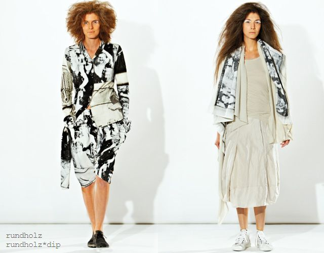 The spring/summer 2013 collection by Studio Rundholz.
