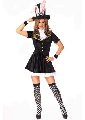 This Black Bunny Costume Is Perfect For Hens Night Party Costumes