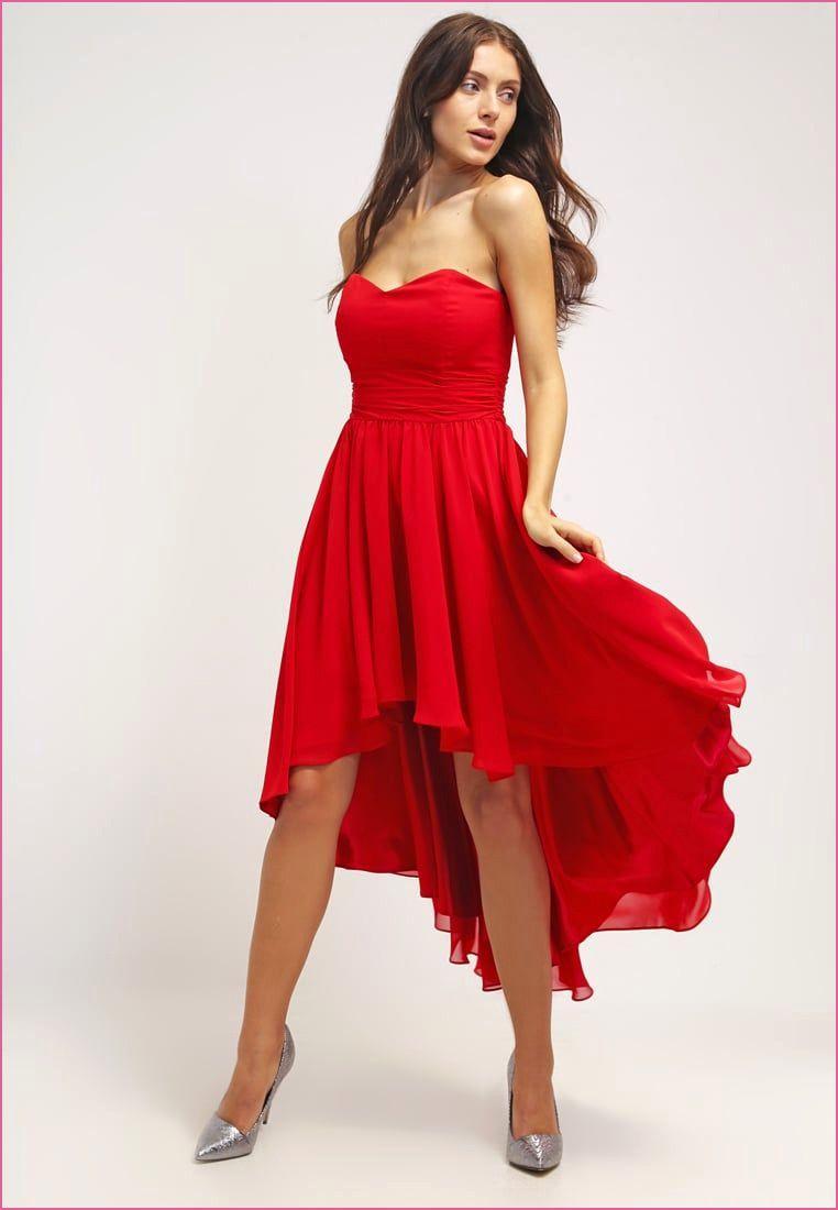 Abschlusskleider Zalando  Cocktailkleid rot, Cocktailkleid, Rotes