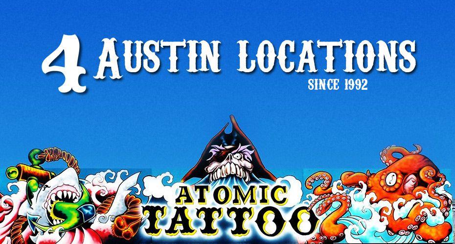 Atomic tattoo tattoo body piercing austin texas
