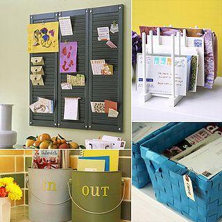 Mail Organization Ideas
