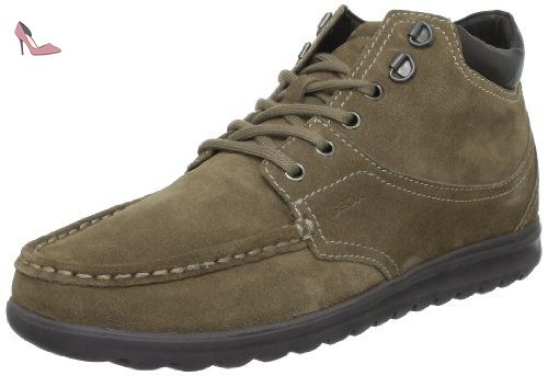 Geox Uomo Winter Flexi S, Chaussures montantes homme Beige