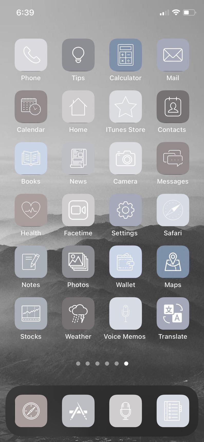 70 Cool Grey Gray Ios 14 Minimalist Boho Neutral App Icons Bundle Set In 2020 App Icon Iphone App Design Iphone Apps