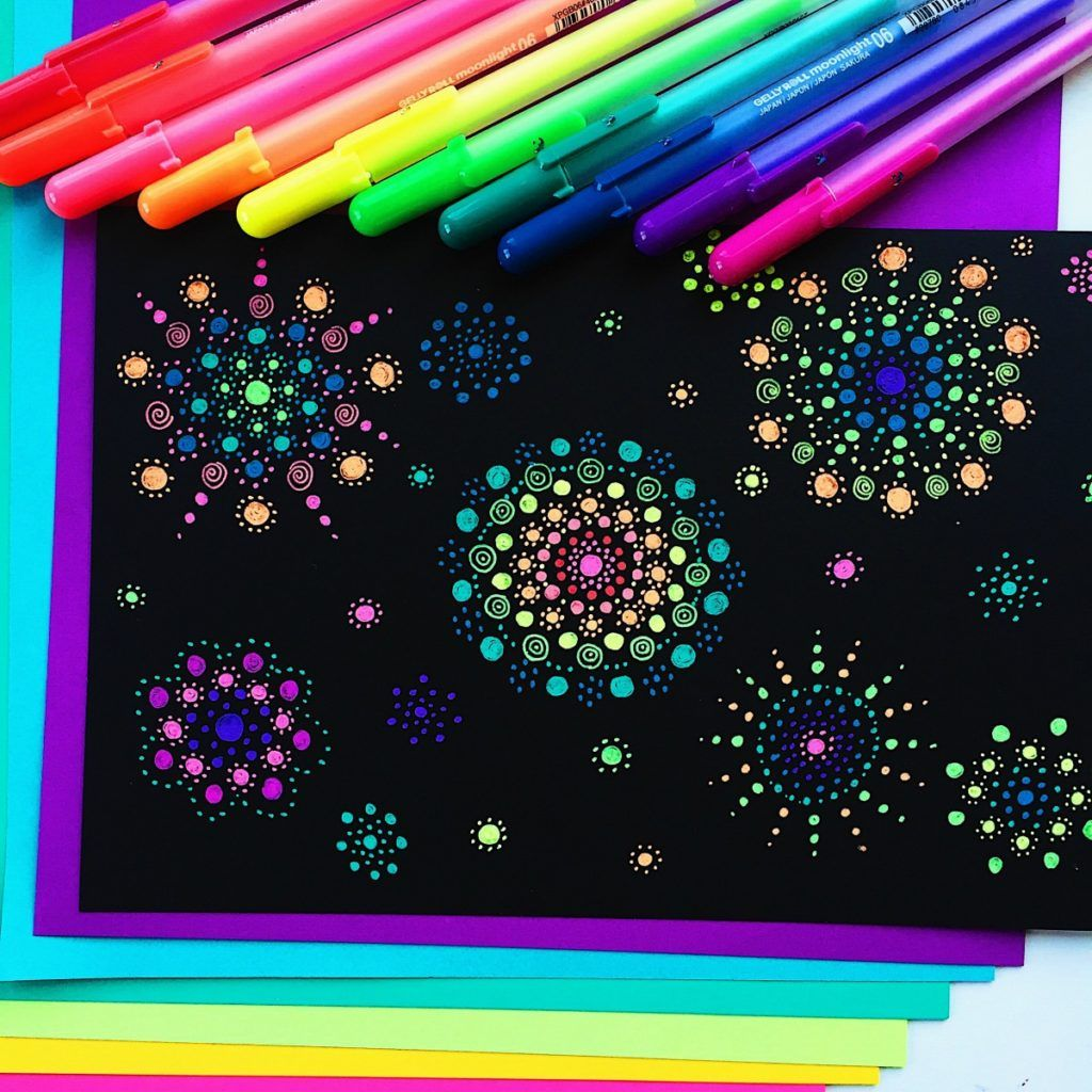 Best markers for drawing doodling and coloring black