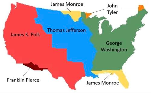 map of the continental united states Map of the Continental United States if divided by   Maps on