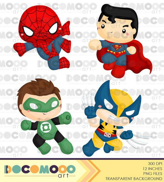Superhero Clipart Superhero Clip Art Superhero Png Superheroes Clipart Heroes Clipart Hero Clipart Digital Clipart Inspiring Ideas Clip Art Superhero