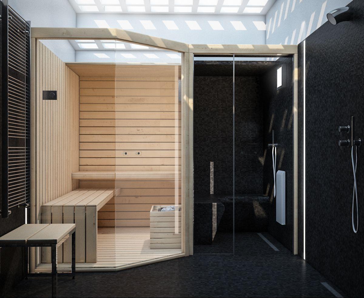 render build-design spazio benessere sauna e bagno turco | Ванная ...