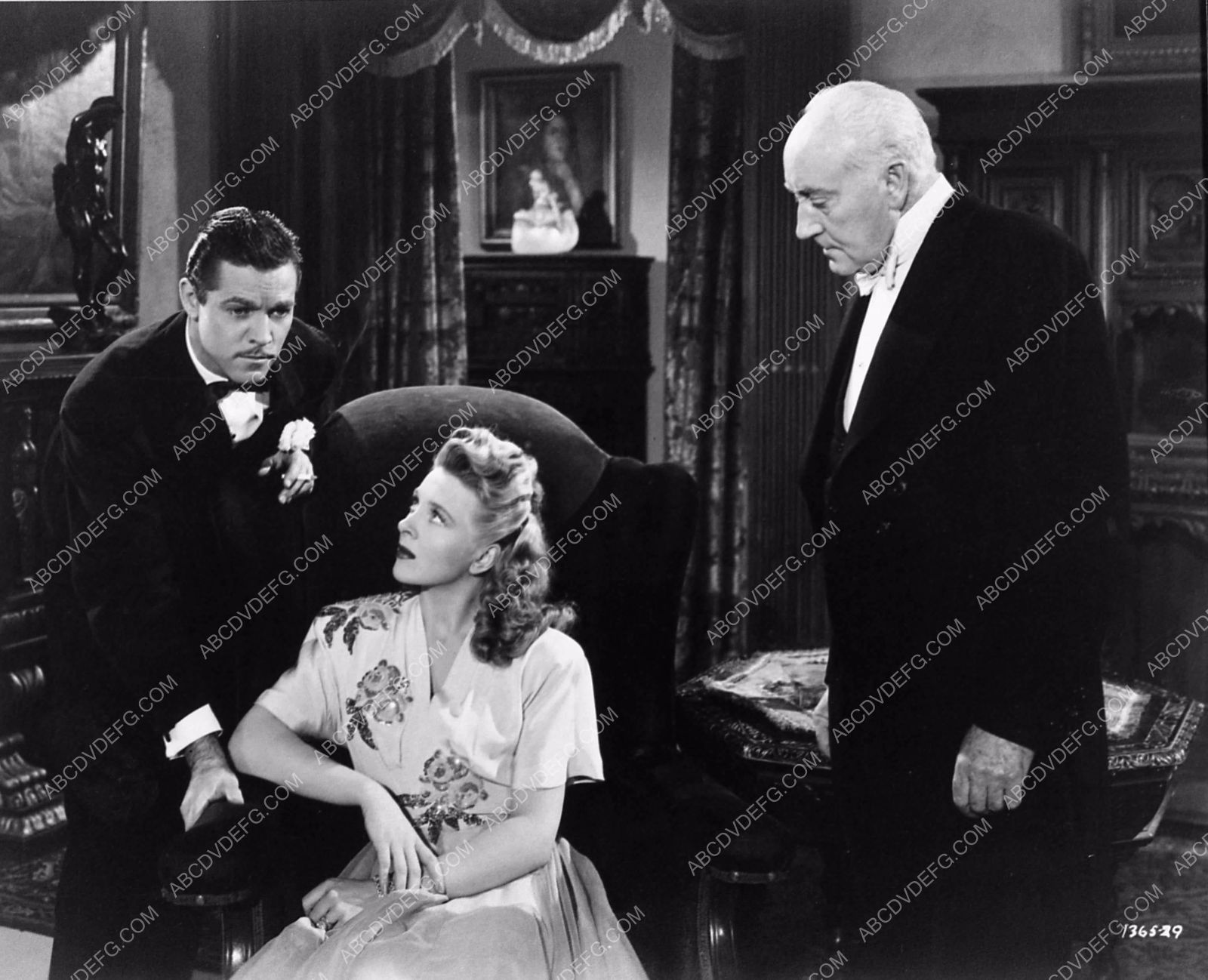 photo Alan Curtis Evelyn Ankers horror film The Invisible Man's Revenge 1561-33