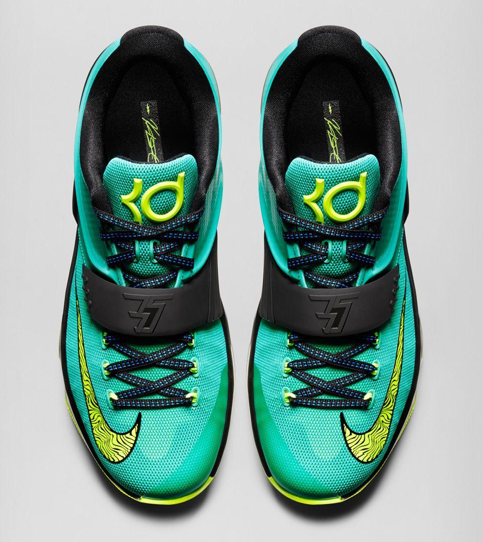 Nike KD 7 Uprising Seattle ones I got