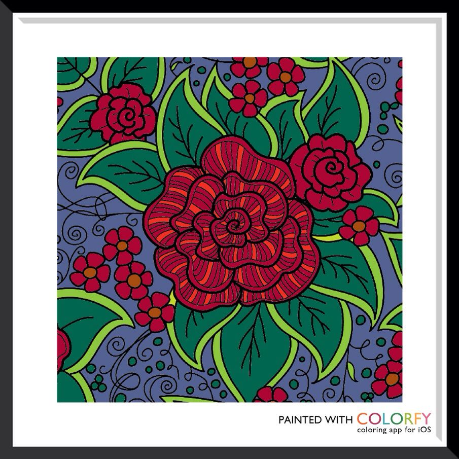 My Colorfy by Jennifer Lee Colorful art, Art, Coloring books