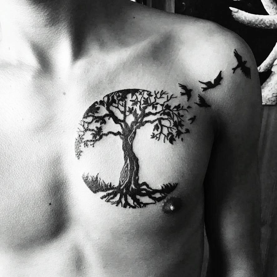 Tree Of Life Tattoo: Pin By Michael Morphius On T