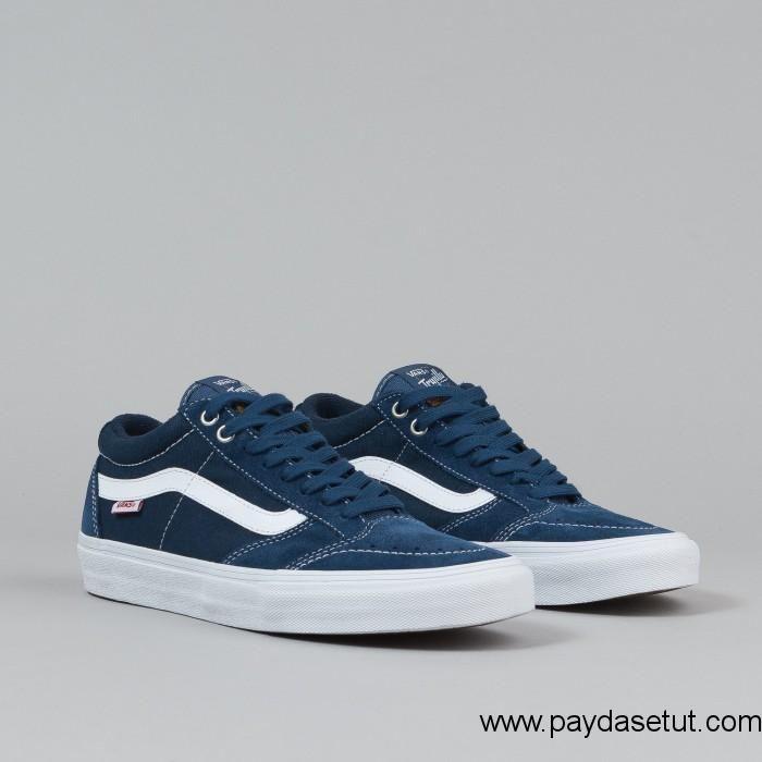 423a6b6bc6 2016 Vans TNT SG Shoes – (Washed Canvas) Navy   White Women Men ...