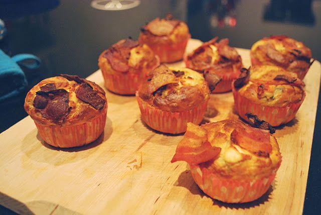 Hartige geitenkaas muffins