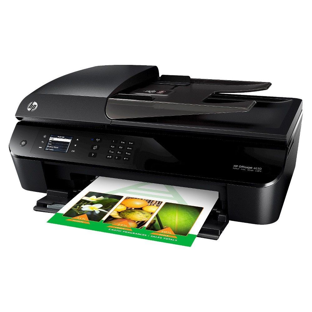 HP Officejet 4630 e-All-in-One Color Multifunction Inkjet
