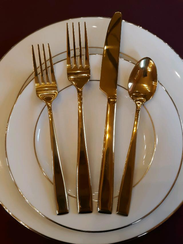 COVENTRY GOLD FLATWARE Rentals Whitefish MT, Where to Rent
