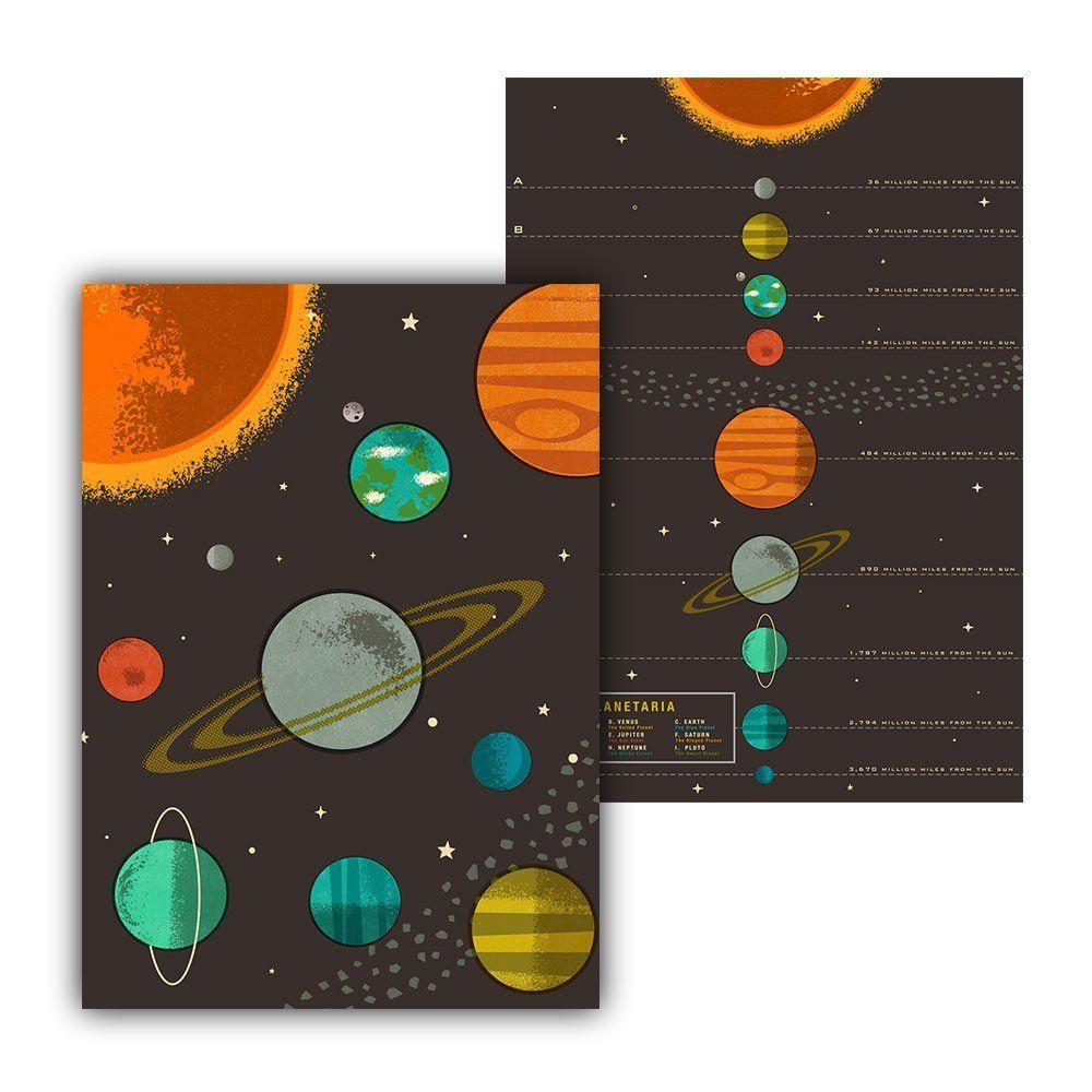 Tea Towels Cotton Tea Towels Tea Towel Set Solar System
