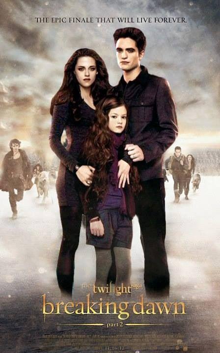 Bella Edward And Renesmee Filme A Saga Crepusculo Posteres De