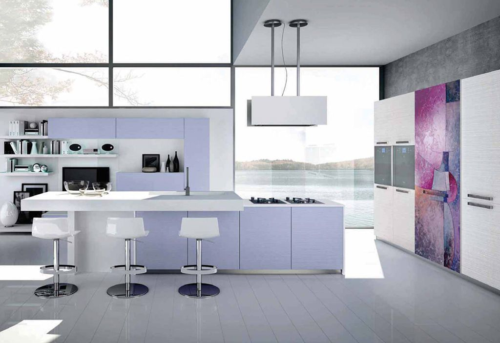 Nilde - Kitchens - Cucine Lube | Center Island | Pinterest | Kitchens