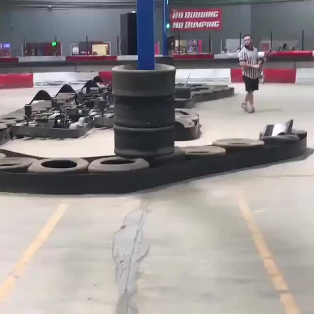 The Kart Kid (with sound) is part of Funny - Watch the video and join the fun convo with 9GAG community
