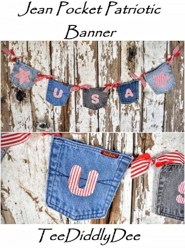 4th Of July Hutch Decor