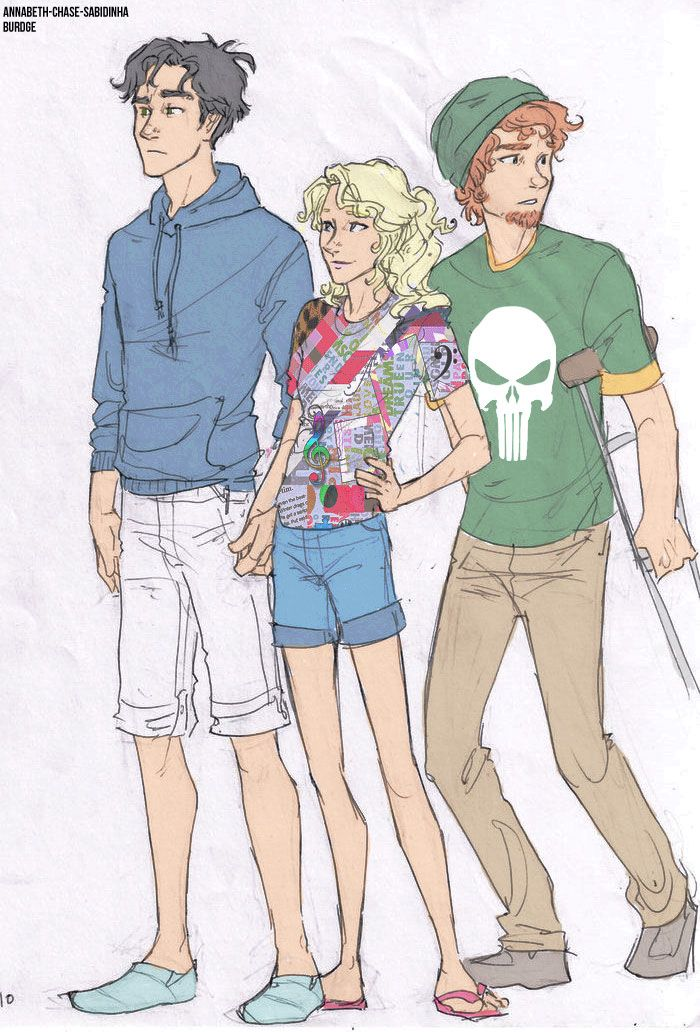 great picture, but what the heck is annabeth wearing?