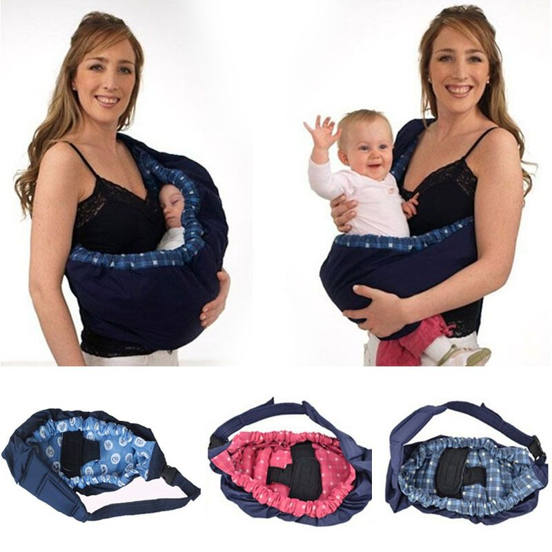 Baby Carrier Cotton Infant Wrap Breathable Infant Kangaroo Bag