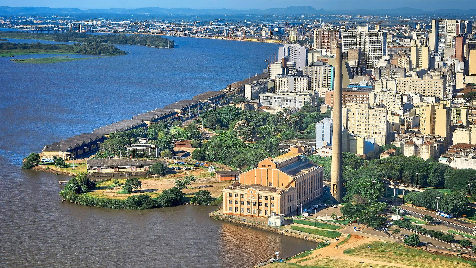 Fotos Aereas De Porto Alegre Com Imagens Porto Alegre Grandes