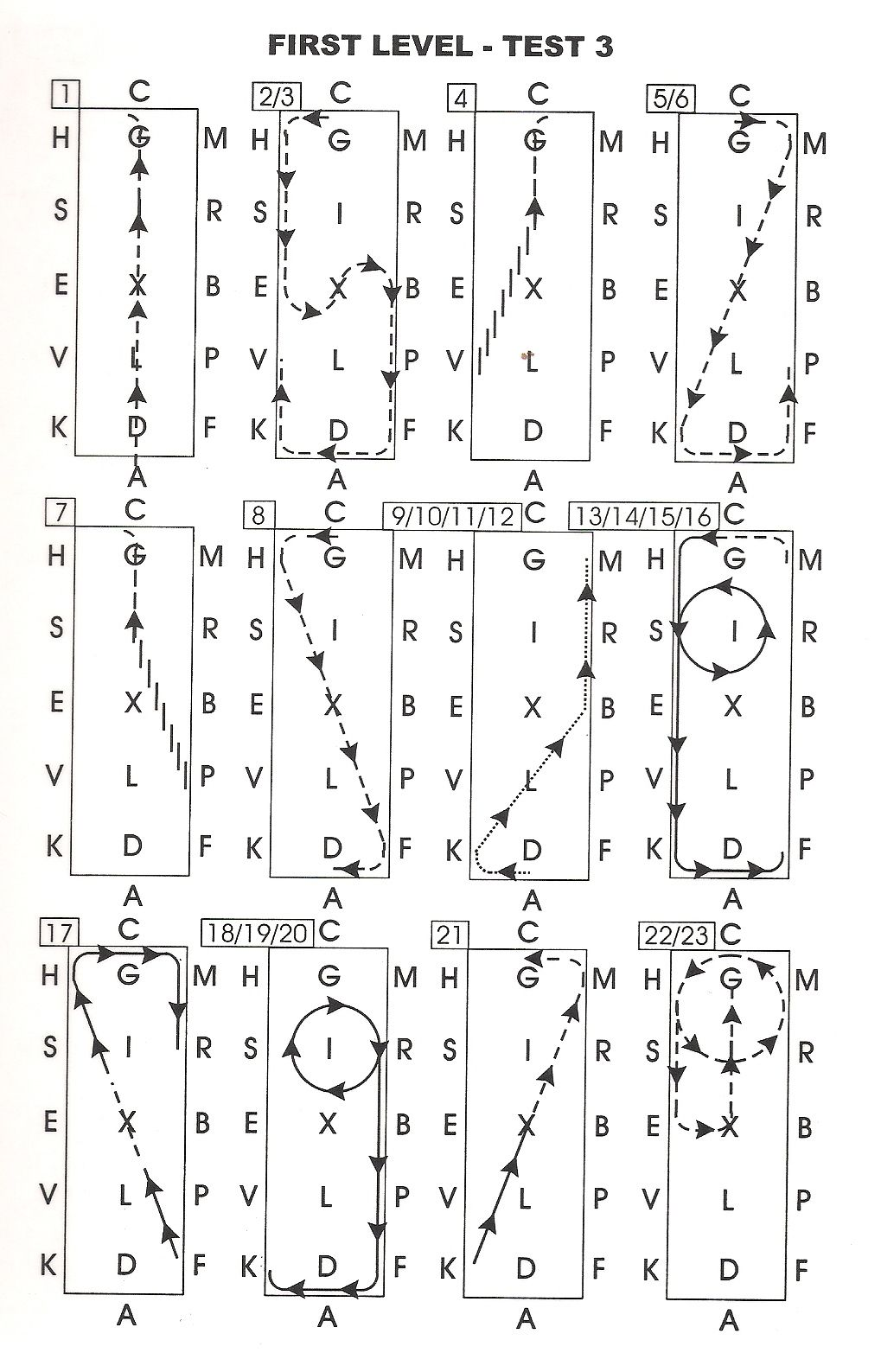 Dressage Test Diagrams Daily Blog Animals Pinterest Pony Massey Harris Wiring Diagram