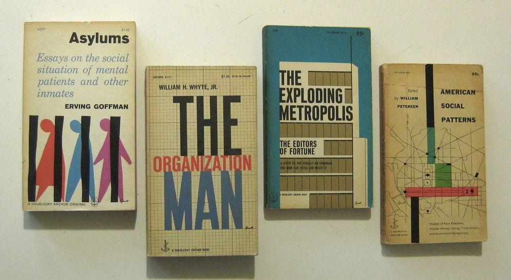 George Giusti 1950s Graphic Design Lot Of 4 Vintage Modernist Book Designs I Book Design Graphic Design Book Cover Design