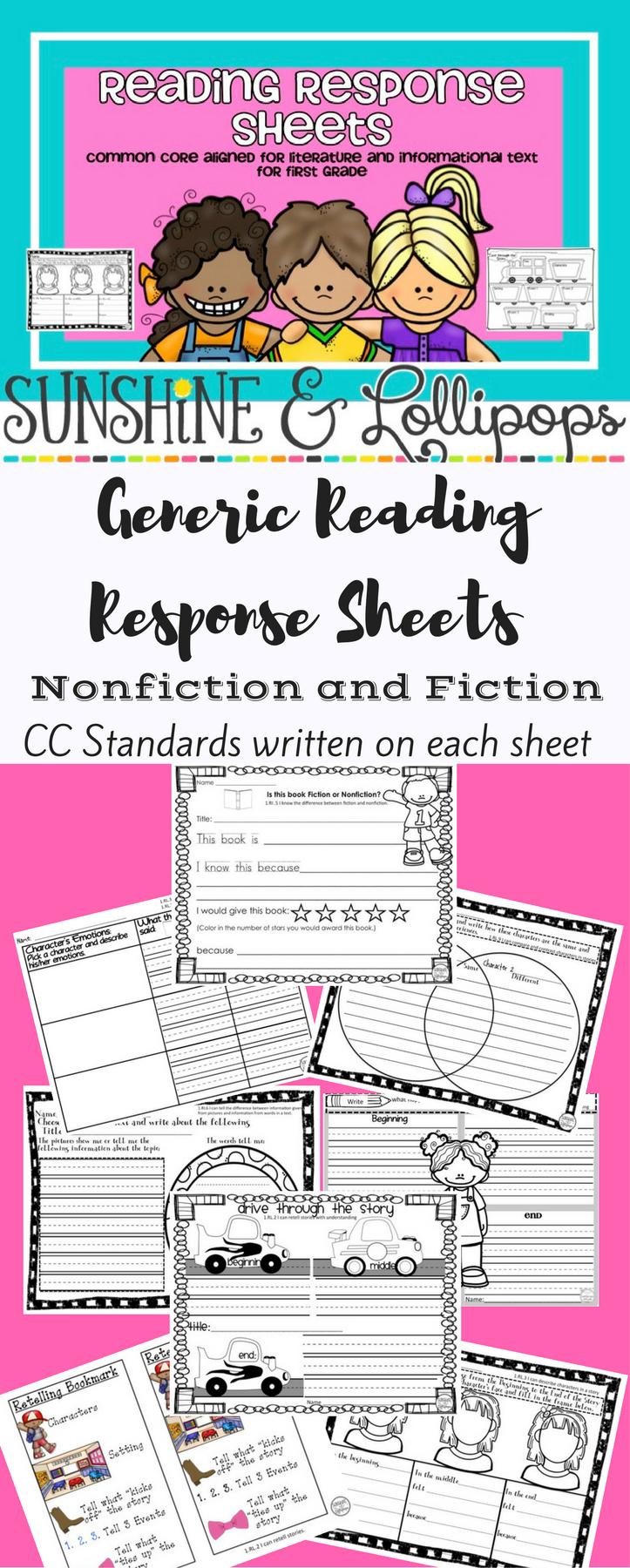 medium resolution of Reading Comprehension Worksheets for 1st Grade   Reading comprehension  worksheets