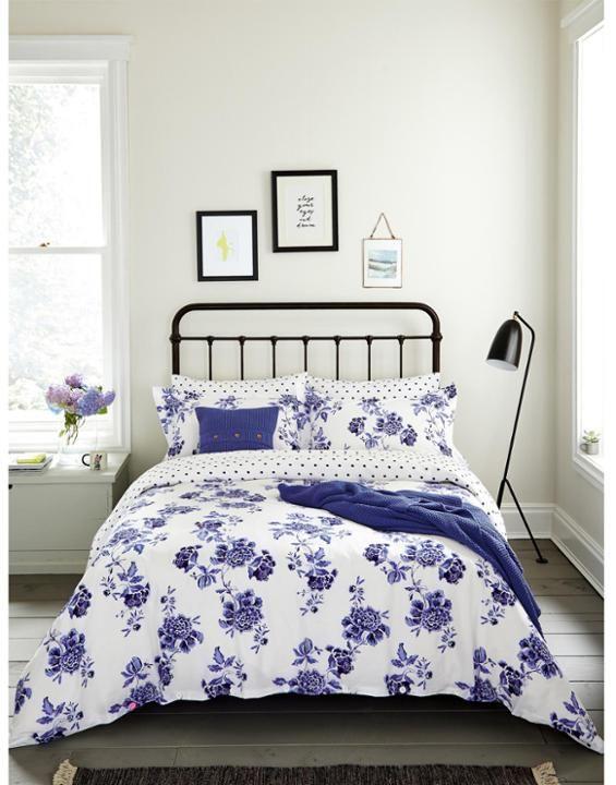 Peony Bright White Peony Duvet Cover Joules Uk Spring Bedroom Blue Duvet Cover Home