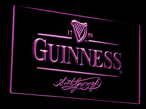 Guinness LED Neon Sign Led neon signs, Neon signs, Neon