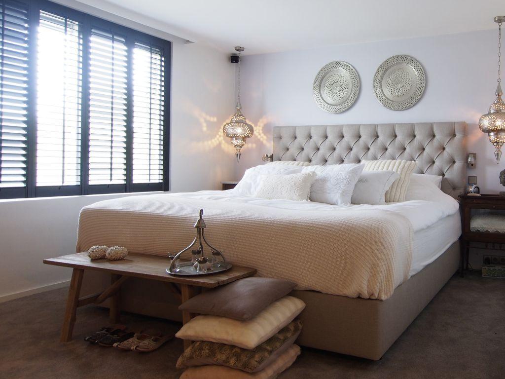 Slaapkamer Landelijk Boxspring : Landelijke boxspring louvre diy slaapkamer zolder slaapkamer