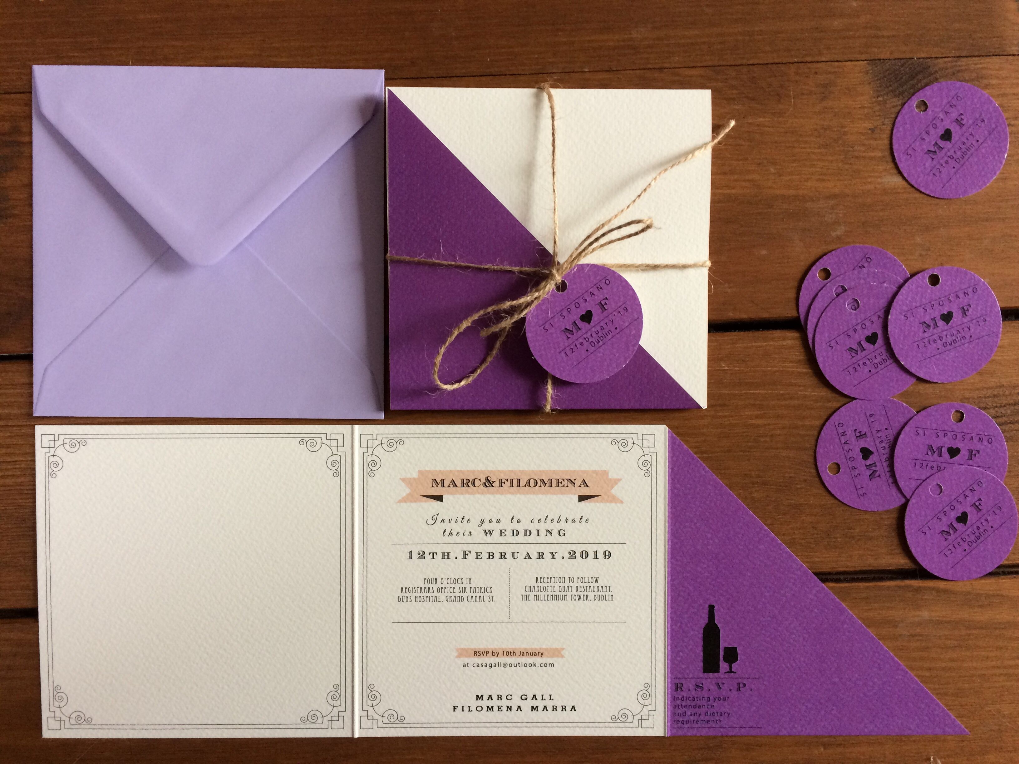 Partecipazioni Matrimonio Tre Ante Partecipazioni Per Matrimonio Partecipazioni Nozze Matrimonio