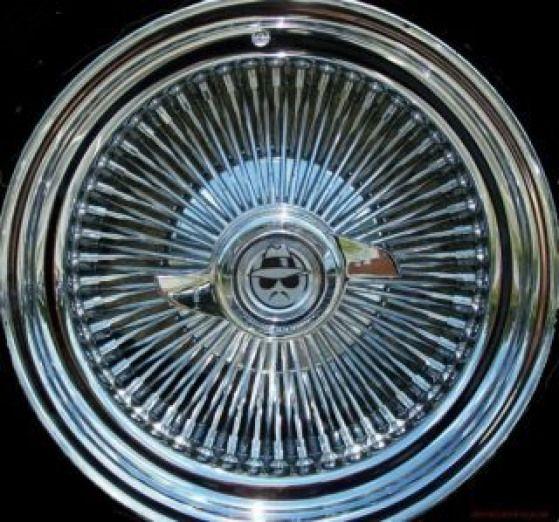 Photo of _lowrider-wheels-rims-emblems-wire-dub-hydraulics…. #hydrauliccars #hydraulic …