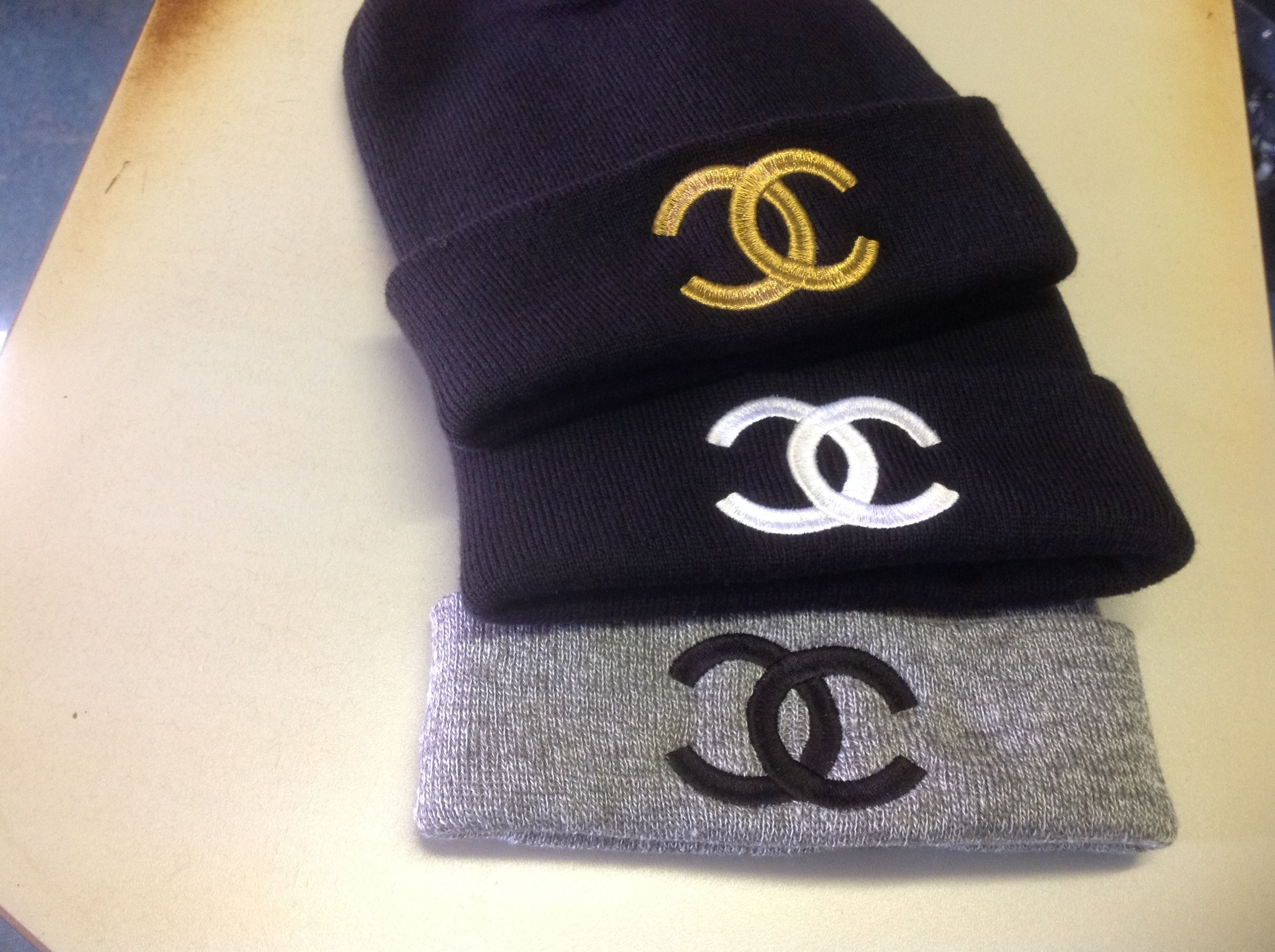 08ee817a1 Chanel Beanies ☺ | Fashion✨ | Beanie hats, Beanie, Hats